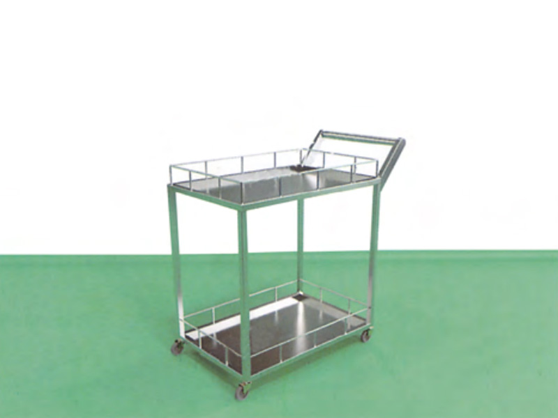 LH0090-双层护栏推车