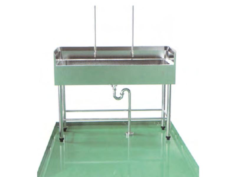 LH0096-支架式三面靠墙洗手池