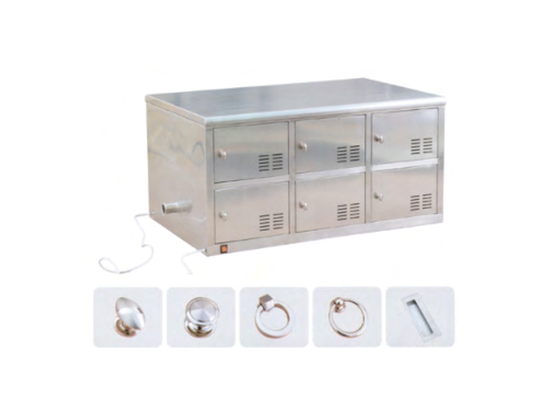 LH0003-不锈钢更鞋柜(带排风、杀菌)