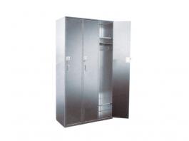 LH0026-3门密码锁平顶衣柜