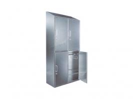 LH0025-4门斜顶衣柜