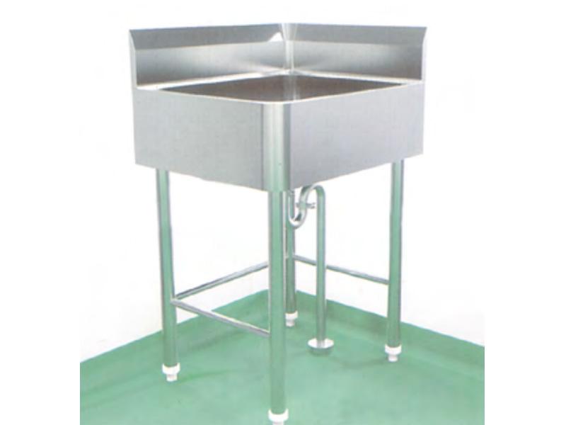 LH0095-支架式右角洗手池