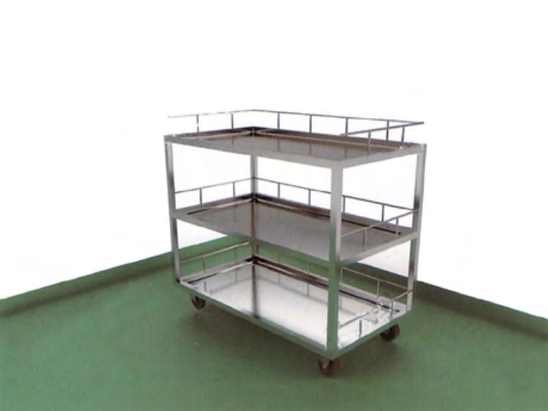 LH0091-三层护栏推车