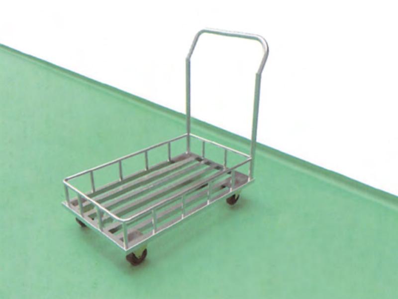 LH0086-格栅式护栏推车