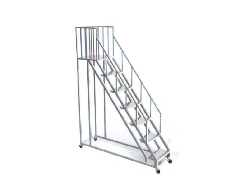 LH0051-移动式带护栏步步高