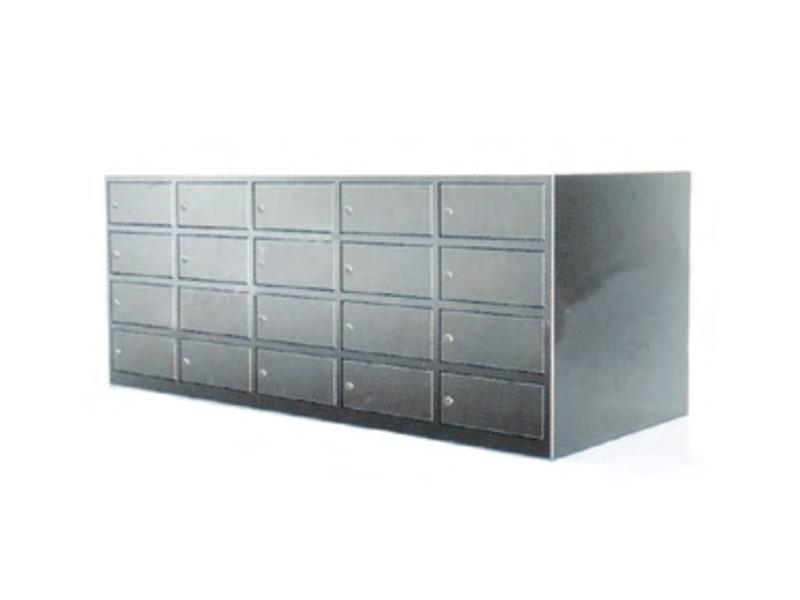 LH0012-双面四层坐式鞋柜