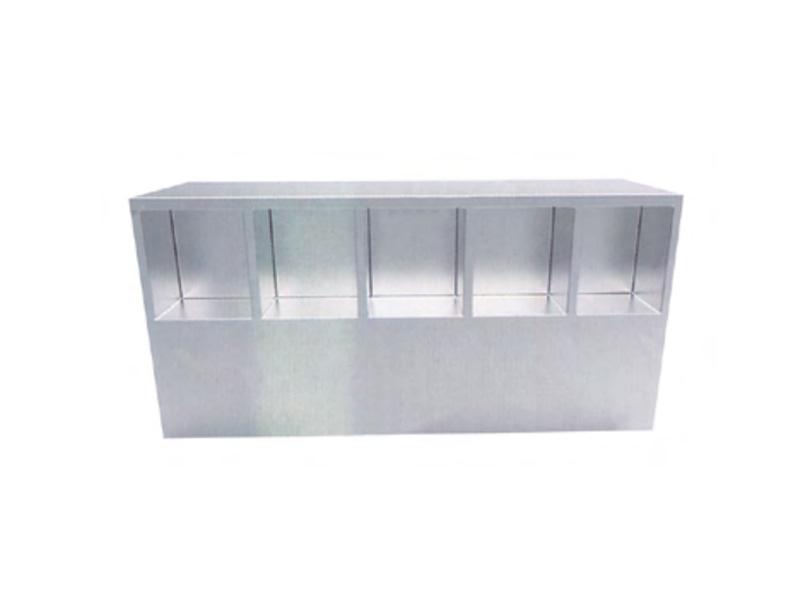 LH0010-带格坐式鞋柜