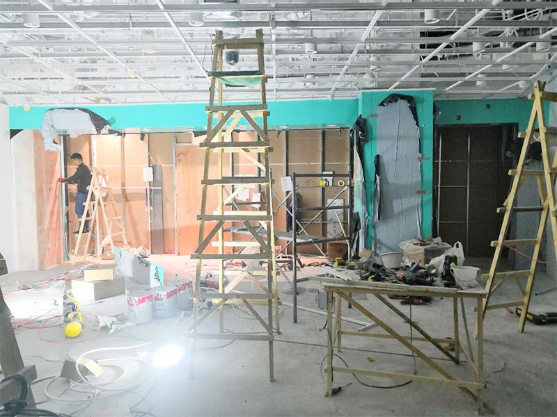 不锈钢电梯套与门套工程案例