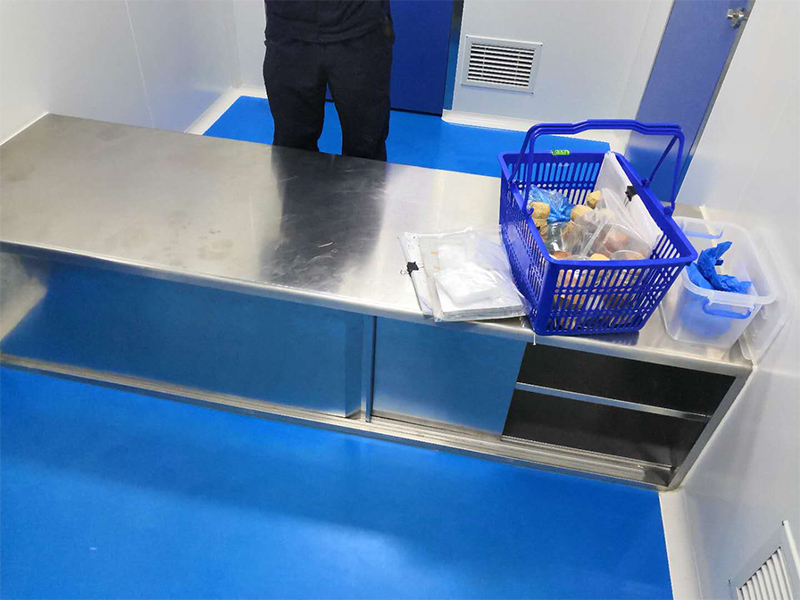 医用不锈钢鞋柜工程案例